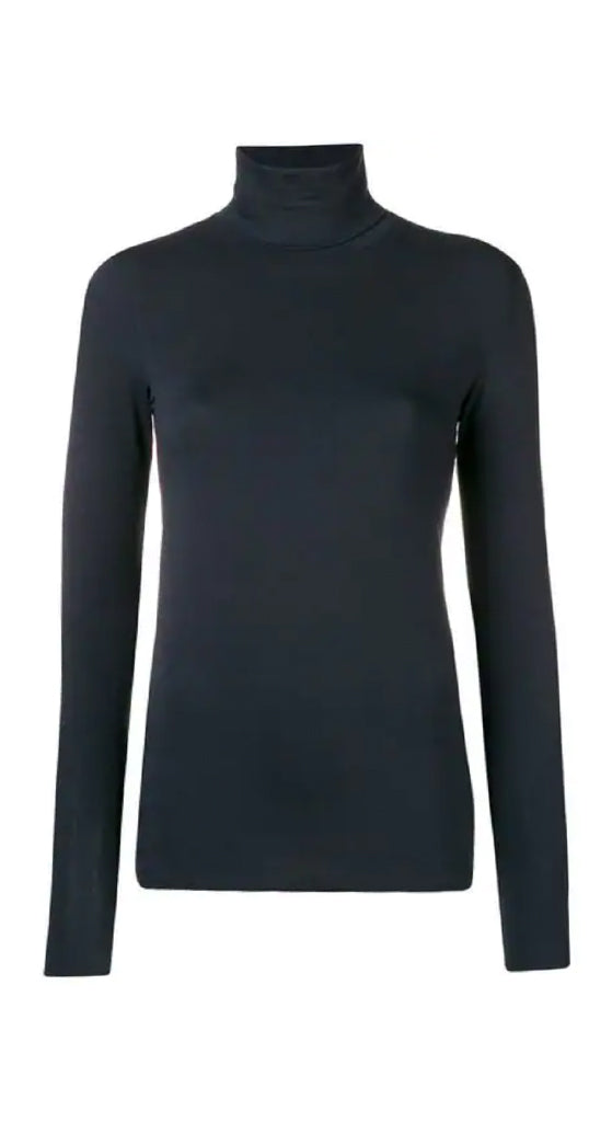 Flat Edge Turtleneck