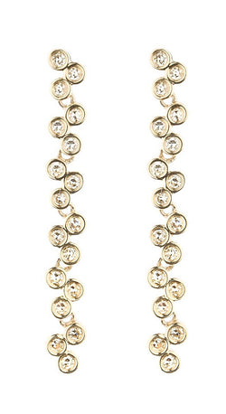 Yellow Gold Semilla Earrings