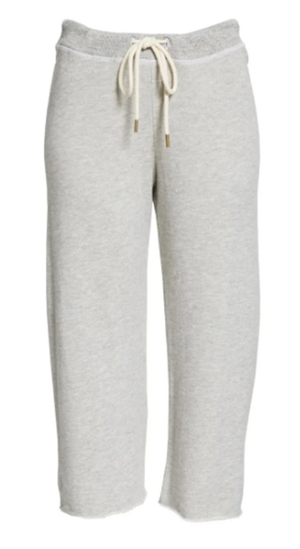 Wide Crop Sweatpant