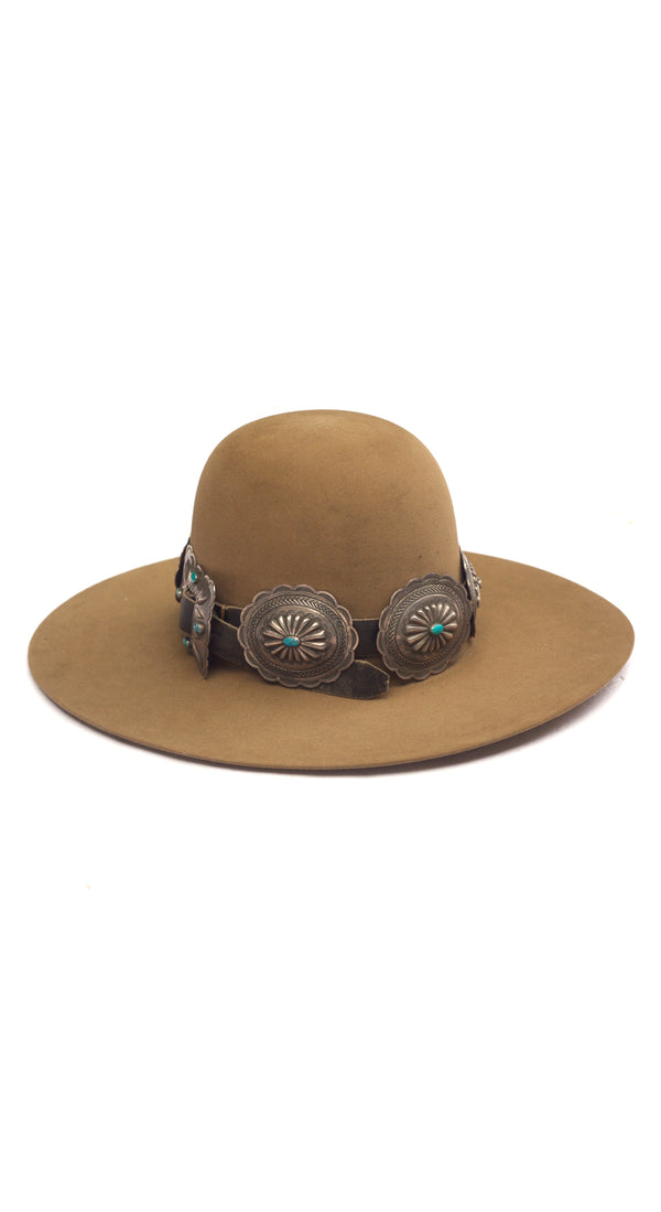 Huge Concho Belt Hat