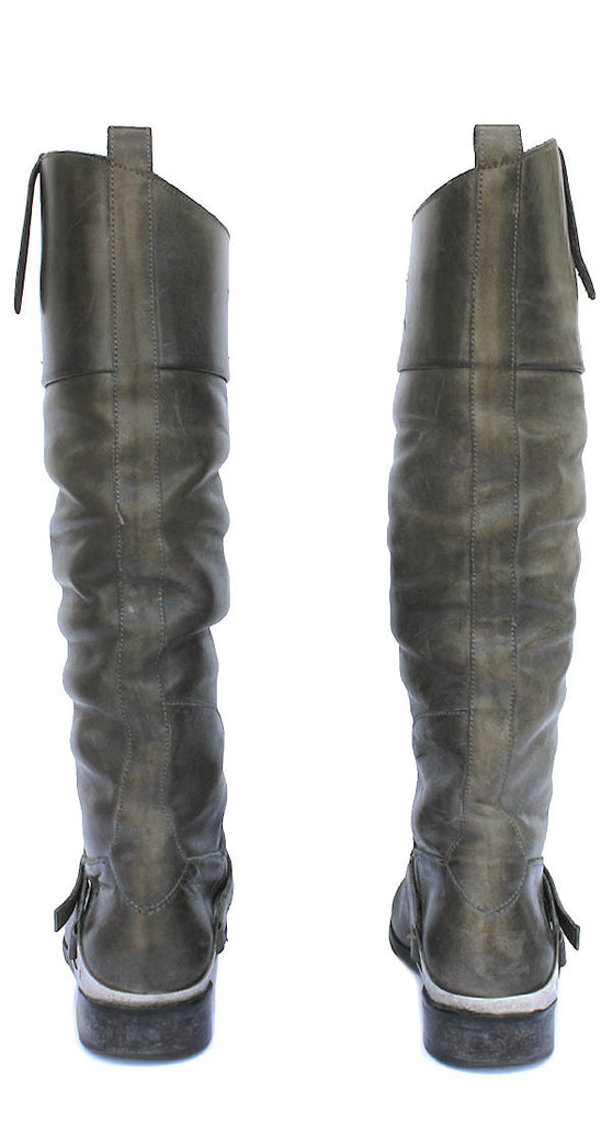 Golden Goose Grey Charlye Boot Size 36