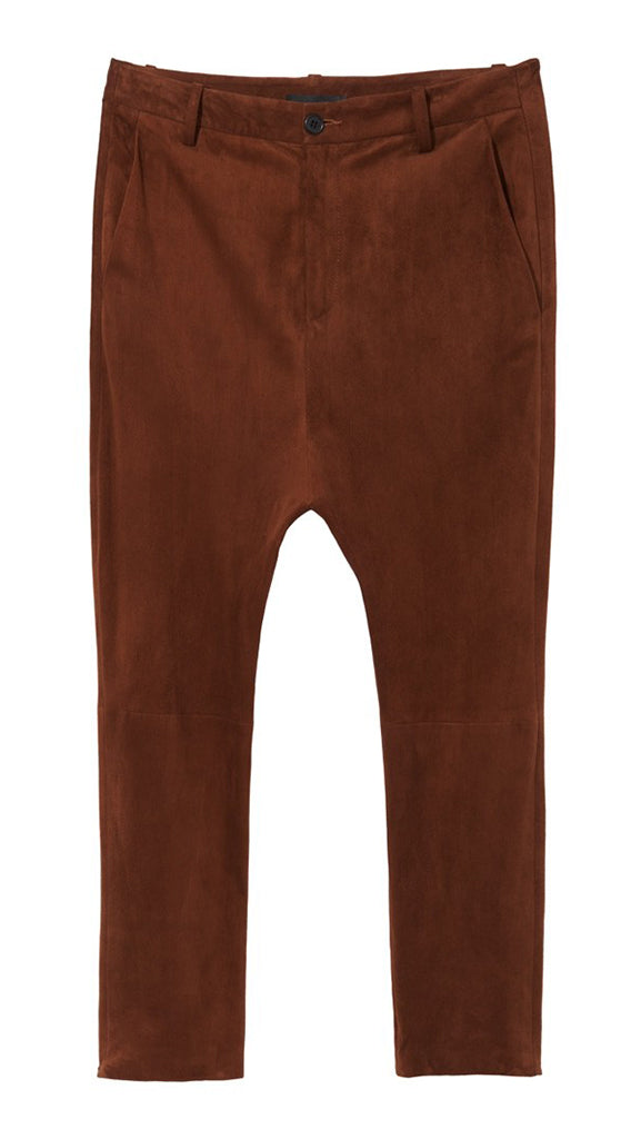 Suede Paris Pant
