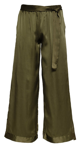 Hammered Silk Pant