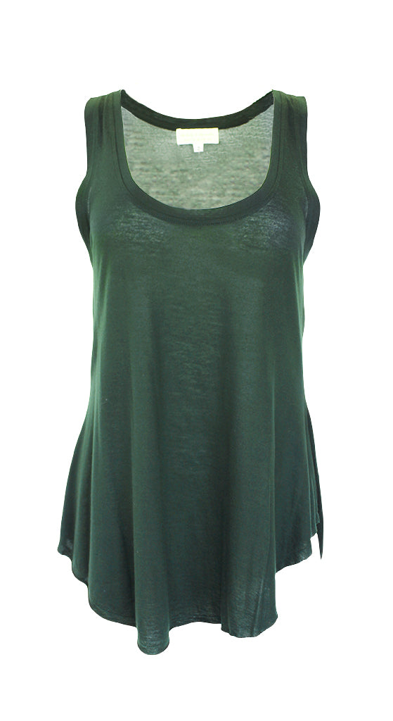 The Lady & The Sailor Emerald Bare Tank Size 3