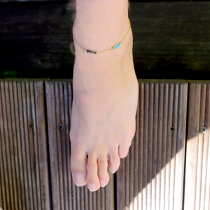 Load image into Gallery viewer, Little Fish Anklet