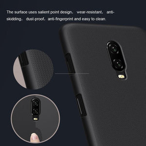 Nillkin ® OnePlus 6T  Super Frosted Shield Back Case