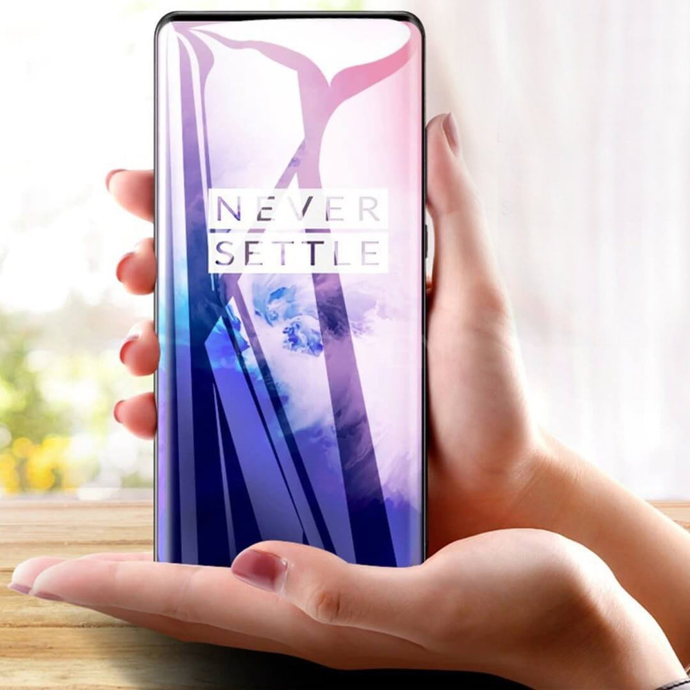 OnePlus 7 Pro Full Coverage Curved Tempered Glass