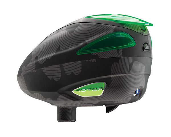 2014 Dye Rotor Paintball Loader - Bomber Lime