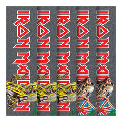 Mob Iron Maiden - Assorted - 9in x 33in - Skateboard Griptape (1 Sheet)