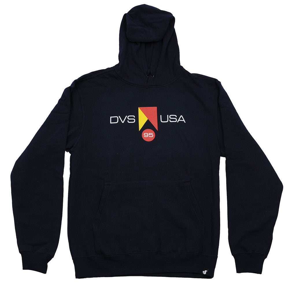 DVS Competition Pullover - Navy/Yellow 400 - Men's Sweatshirt