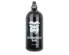 Guerrilla Air Tri Label Compressed Air Tank W/ M3 Regulator 48/3000 - Black