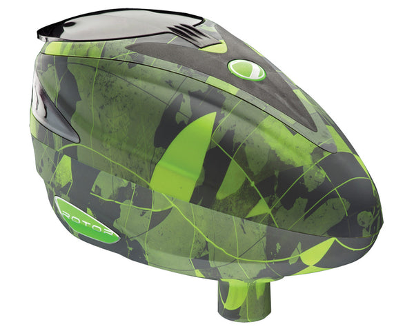 2013 Dye Rotor Paintball Loader - Atlas Lime