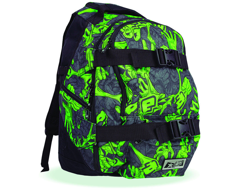 Planet Eclipse 2014 Gravel Backpack - Stretch Poison