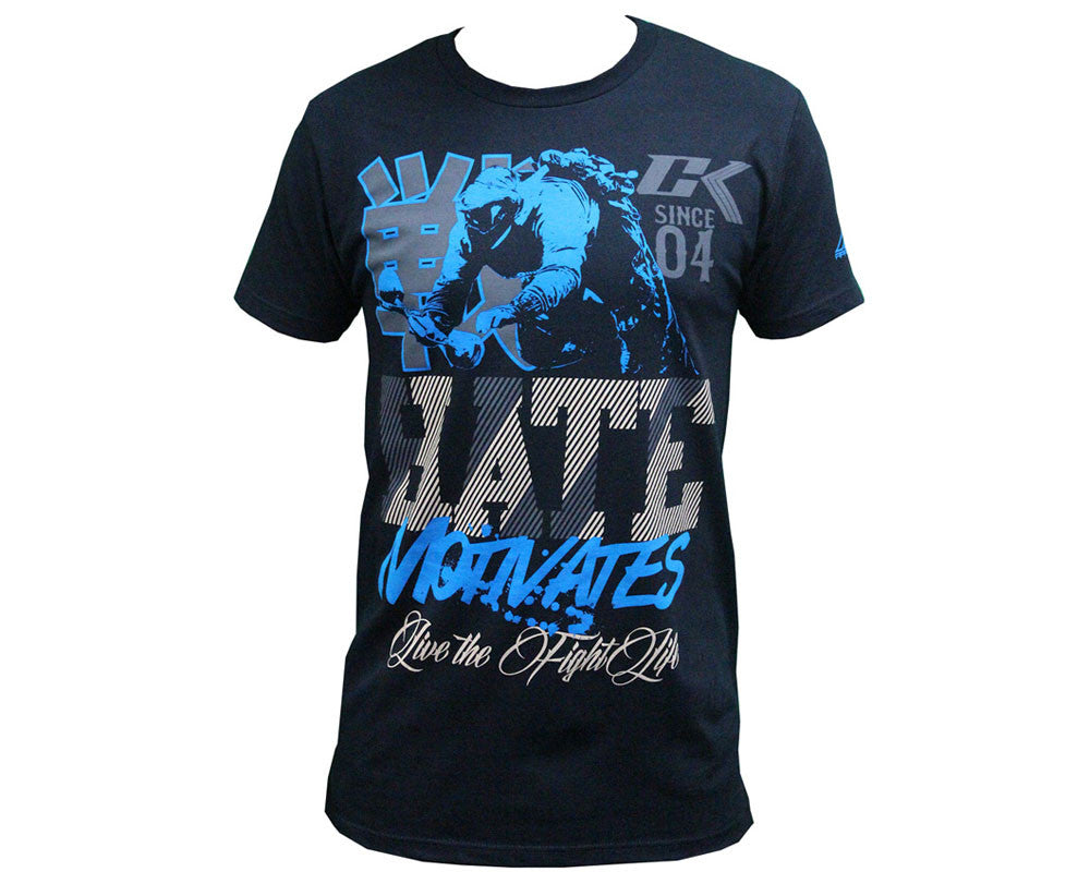 Contract Killer Hate T-Shirt - Black