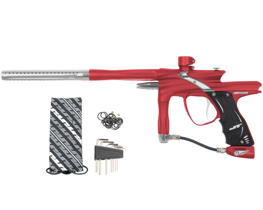 JT Impulse Paintball Gun - Dust Red/Grey