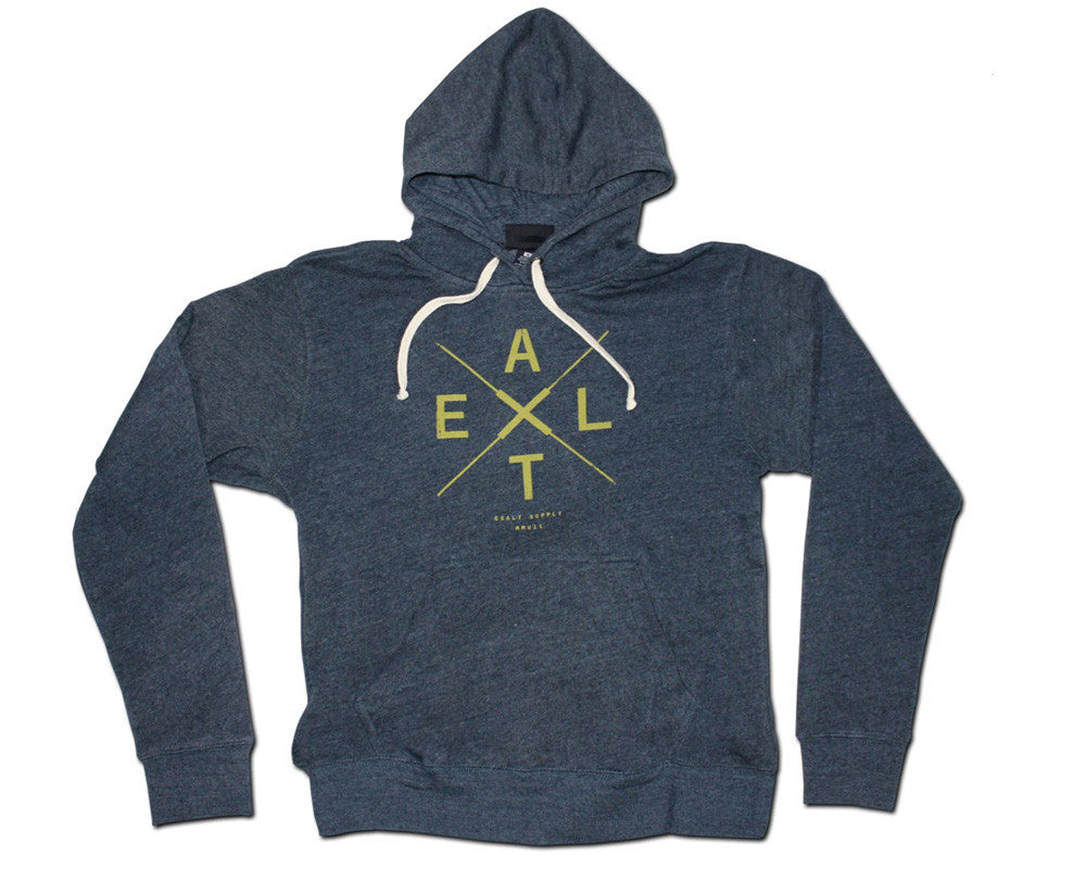 Exalt Crossing Hooded Sweatshirt - Blue