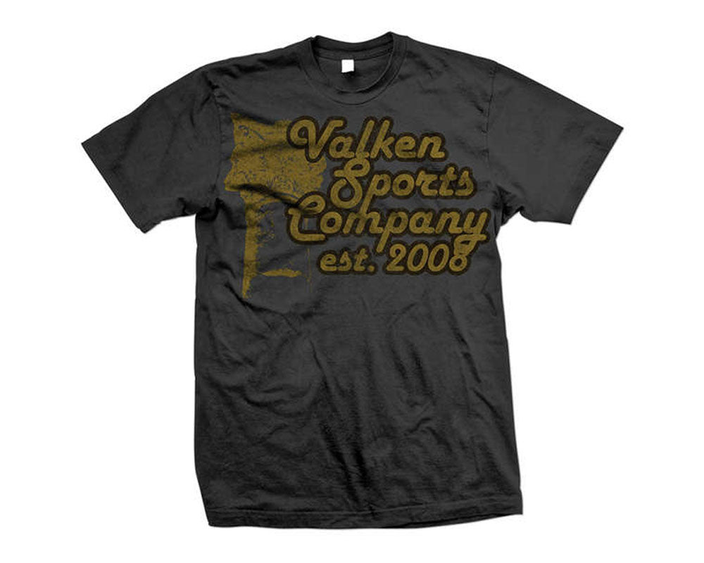 2012 Valken Paintball Sports Company T-Shirt - Grey