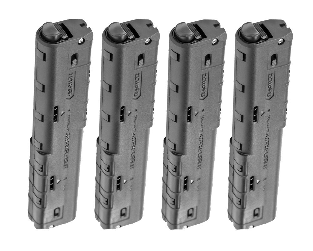 4 Pack Stark Pursuit 20 Round ZetaMag Gen 3 - TiPX/TPX - Black