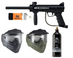 Empire BT-4 Combat & Thermal Helix Mask w/ Free 20 Oz CO2 Tank