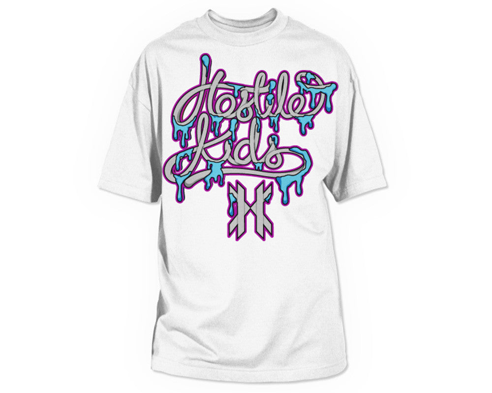 HK Army Melted Paintball T-Shirt - White
