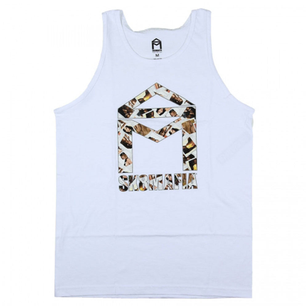 Sk8mafia House Logo Girls - White - Men's Tank Top