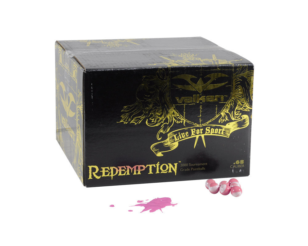 Valken Redemption Paintball Case 1000 Rounds - Pink Fill