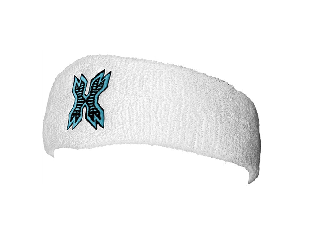 HK Army Icon Sweatband - White/Teal
