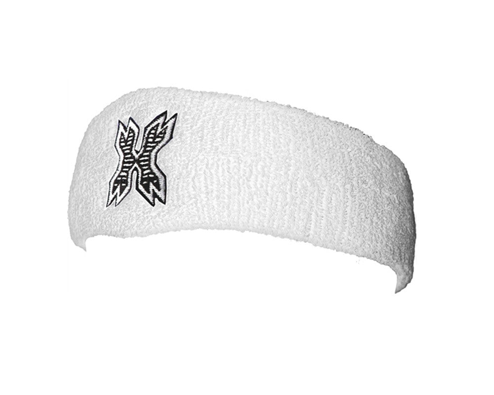 HK Army Icon Sweatband - White/Black