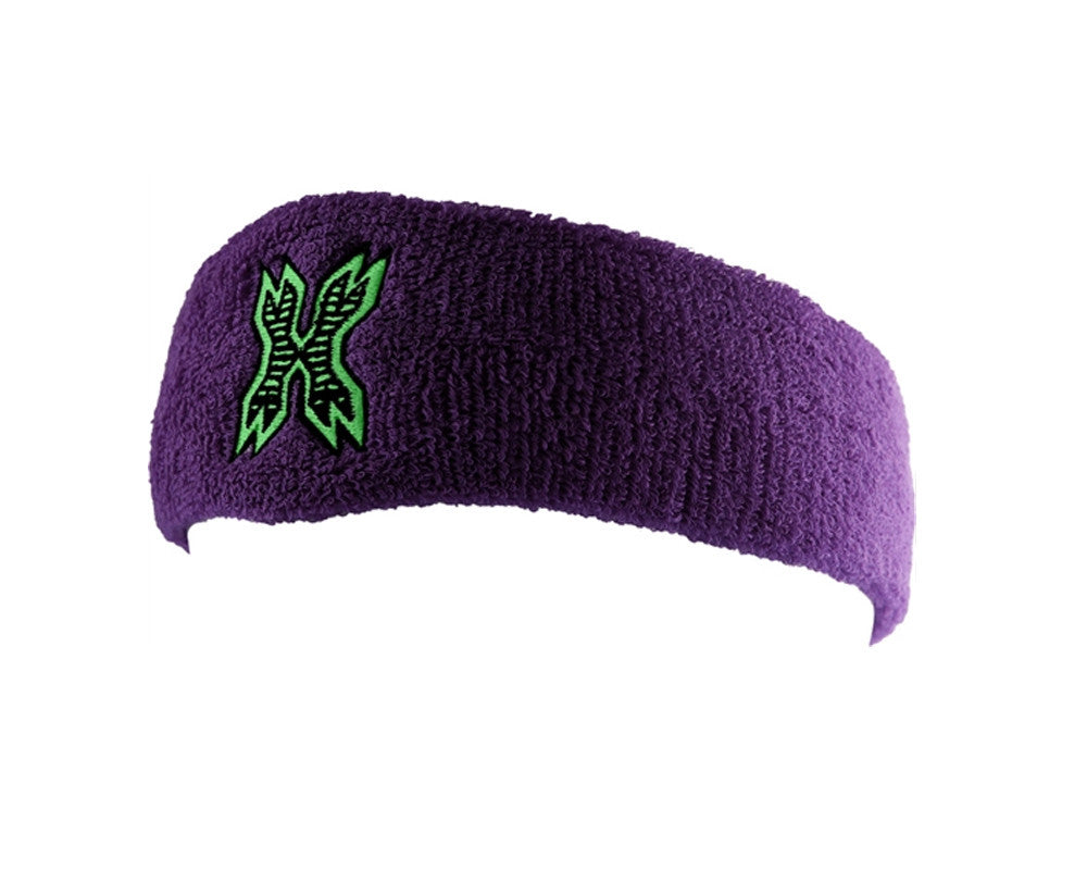 HK Army Icon Sweatband - Purple/Neon