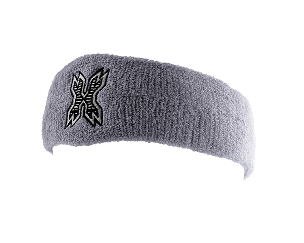 HK Army Icon Sweatband - Grey/Black