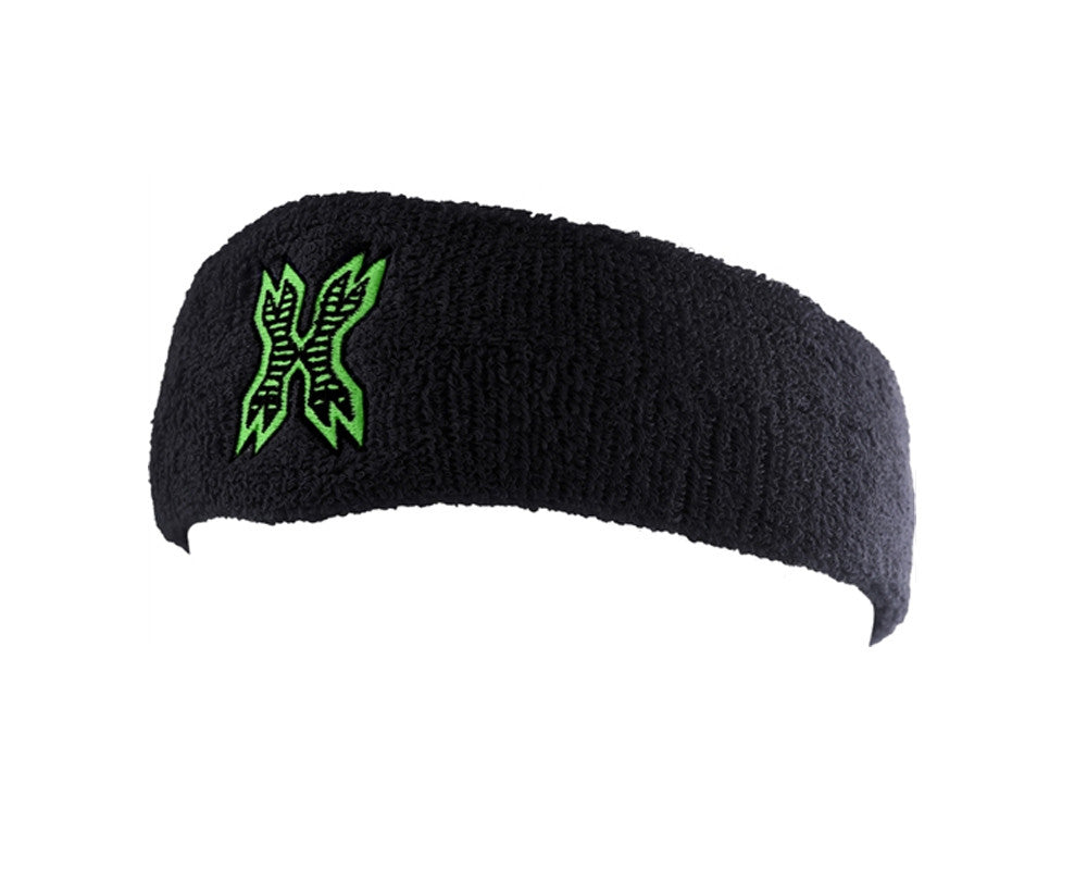HK Army Icon Sweatband - Black/Neon