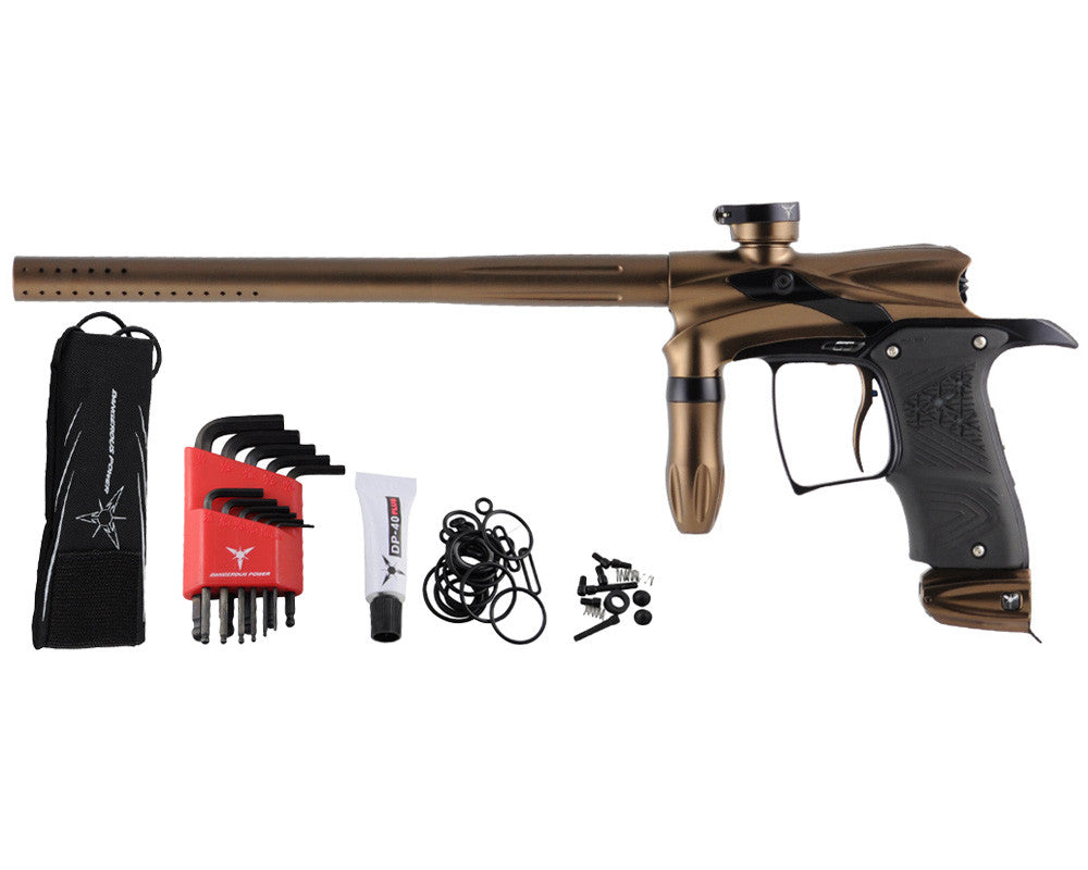 Dangerous Power G5 Paintball Gun - Brown/Black