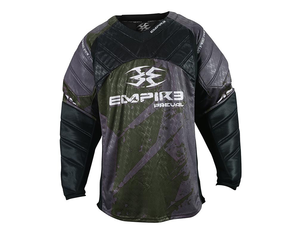 Empire 2015 Prevail F5 Paintball Jersey - Olive