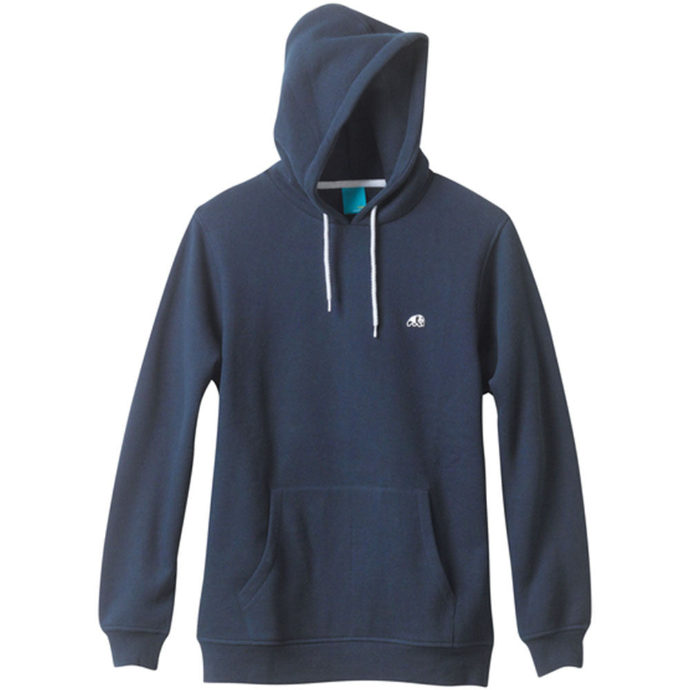 Enjoi Panda Patch P/O Hooded - Navy - Men's Sweatshirt