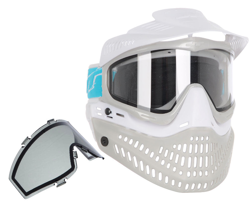 Jt ProFlex Thermal Paintball Mask - 2.0 Limited Edition White/Grey