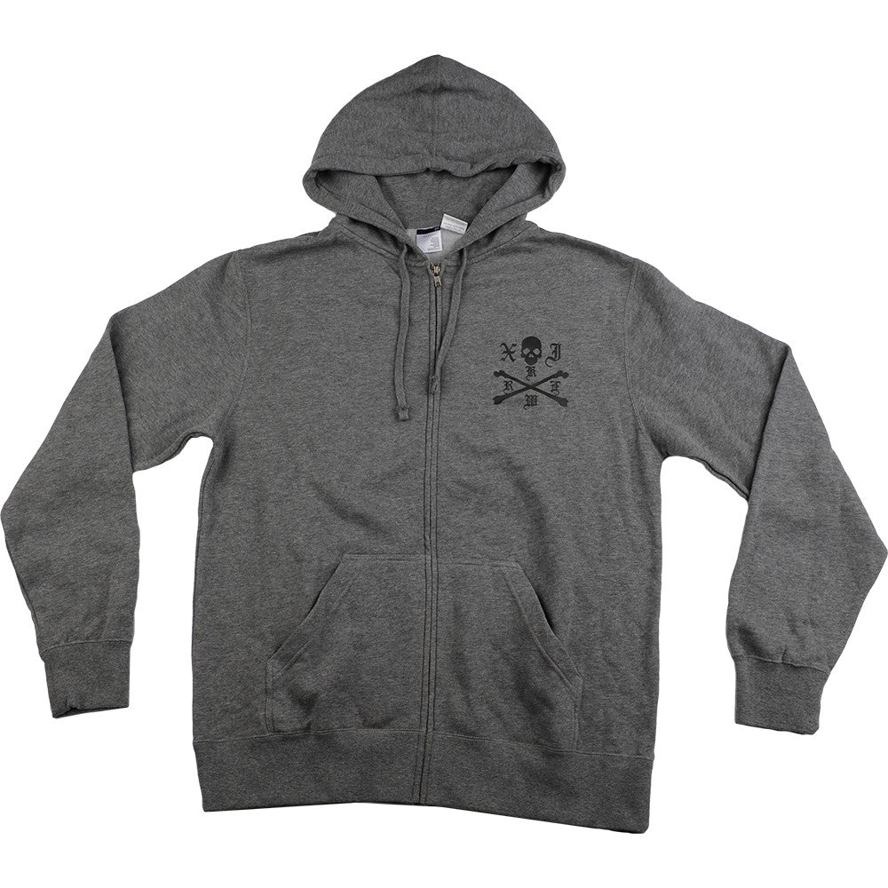 Kr3w Crossbows - Men's Sweatshirt - Grey