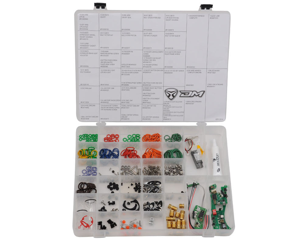 Dye DM14 Complete Replacement Parts Kit