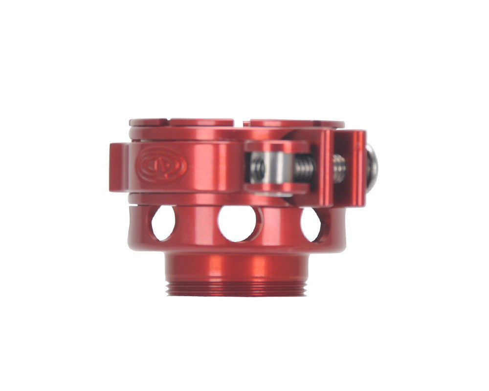 Custom Products CP Mini/Axe No-Rise Clamping Feed Neck - Red
