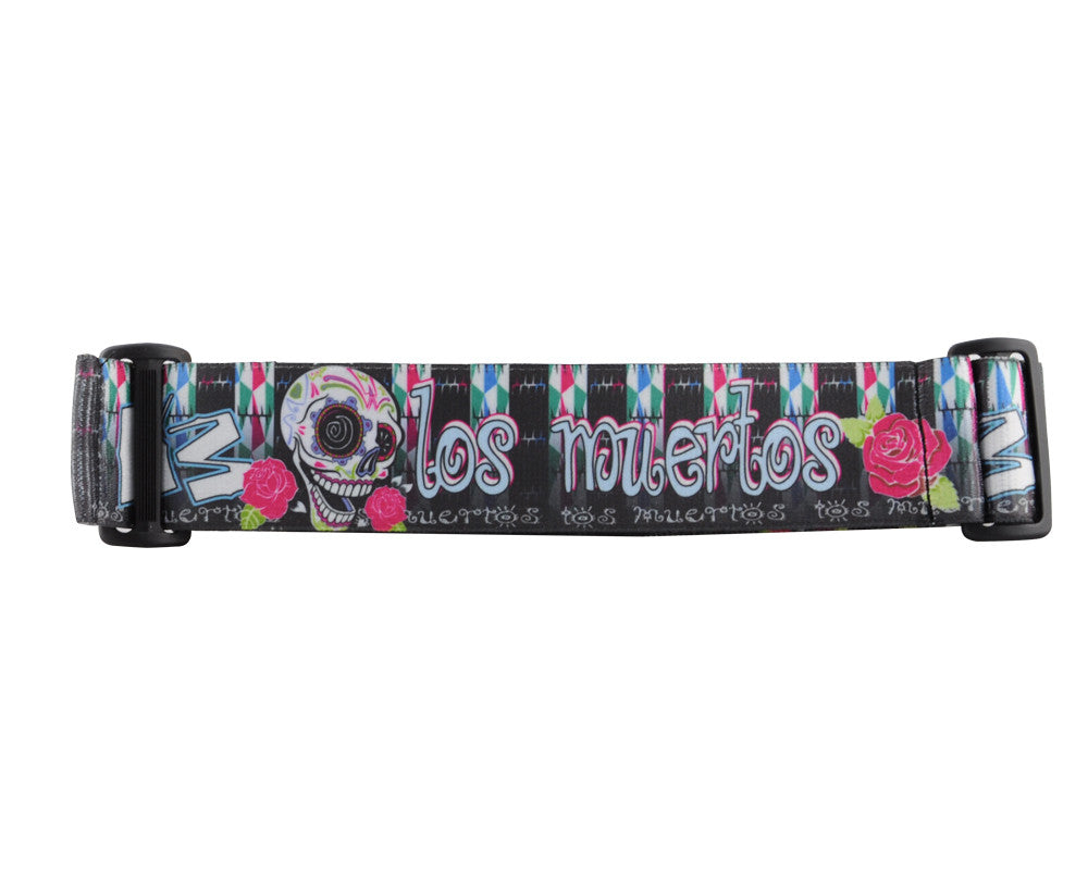 KM Paintball Goggle Strap - Los Muertos