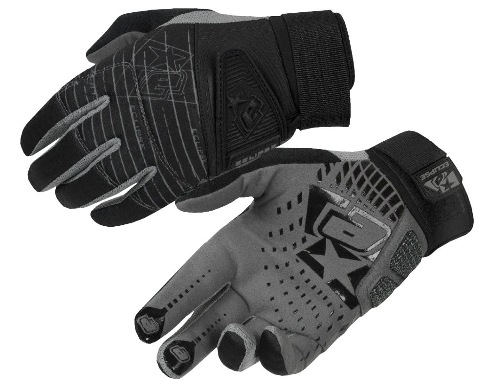 Planet Eclipse Distortion Full-Finger Paintball Gloves - Black