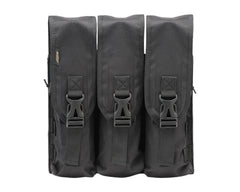 2013 Dye Tactical Locking Lid Pouch - Triple - Black