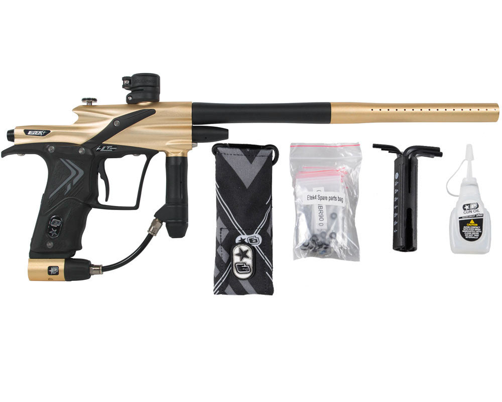 Planet Eclipse Etek 4 LT Paintball Gun - Gold