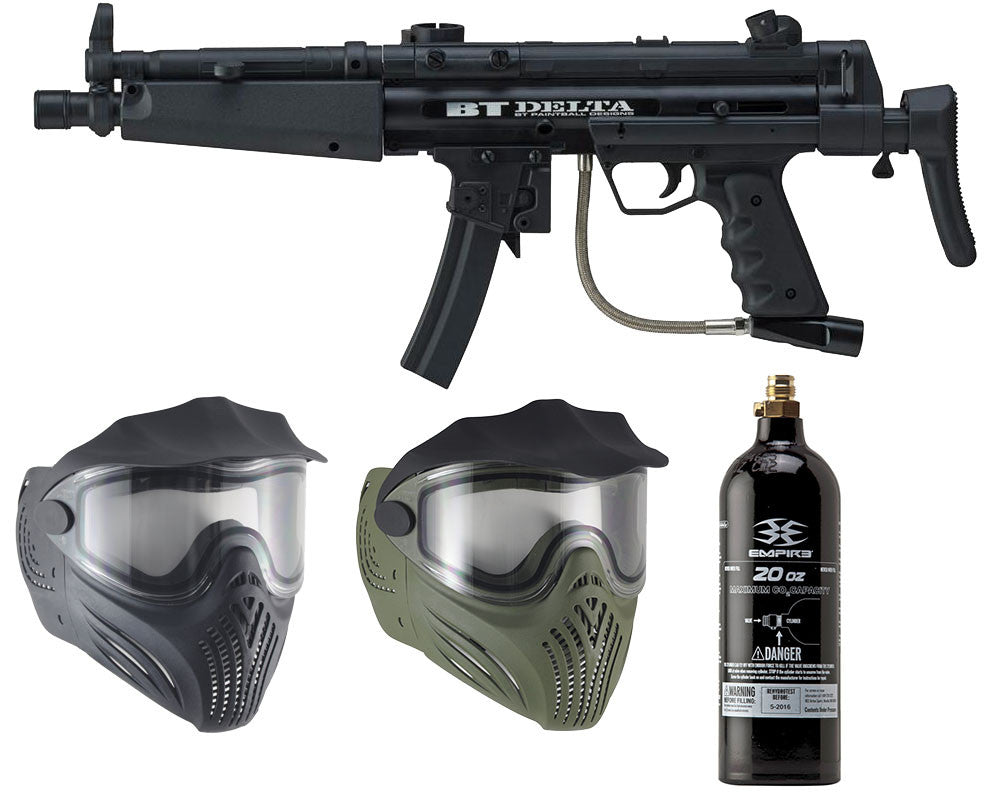 Empire Delta & Thermal Helix Mask w/ Free 20 Oz CO2 Tank