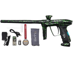 DLX Luxe 2.0 OLED Paintball Gun - 3D Splash Dust Black/Slime