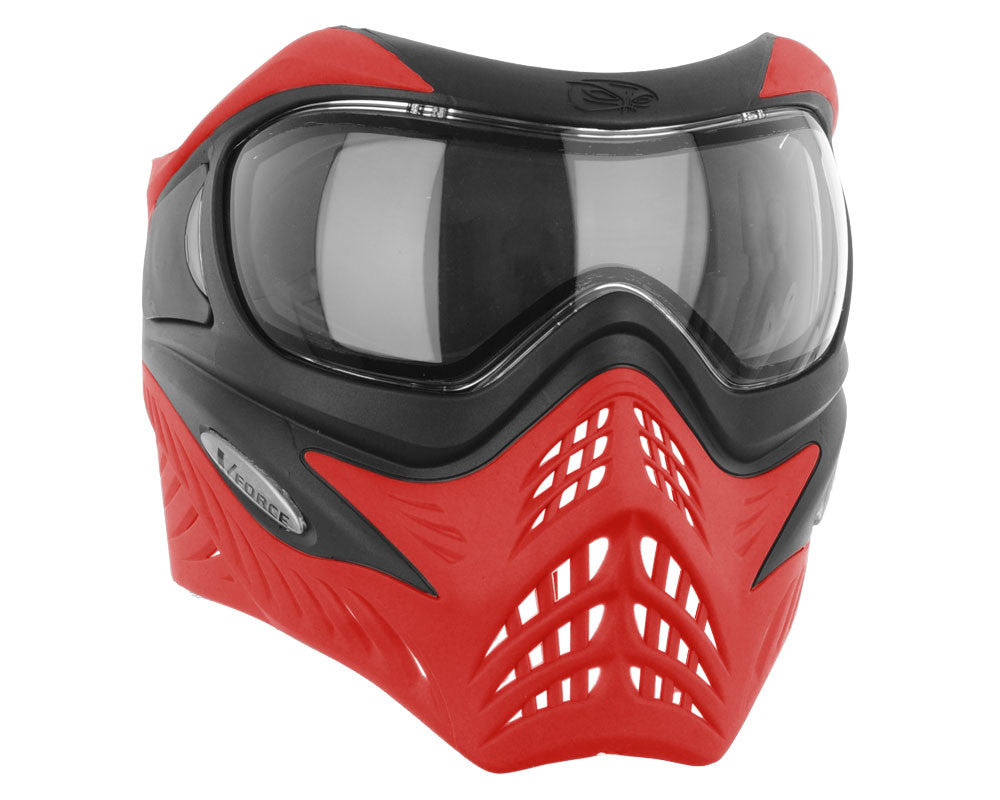 V-Force Grill Paintball Mask - SE Black/Red