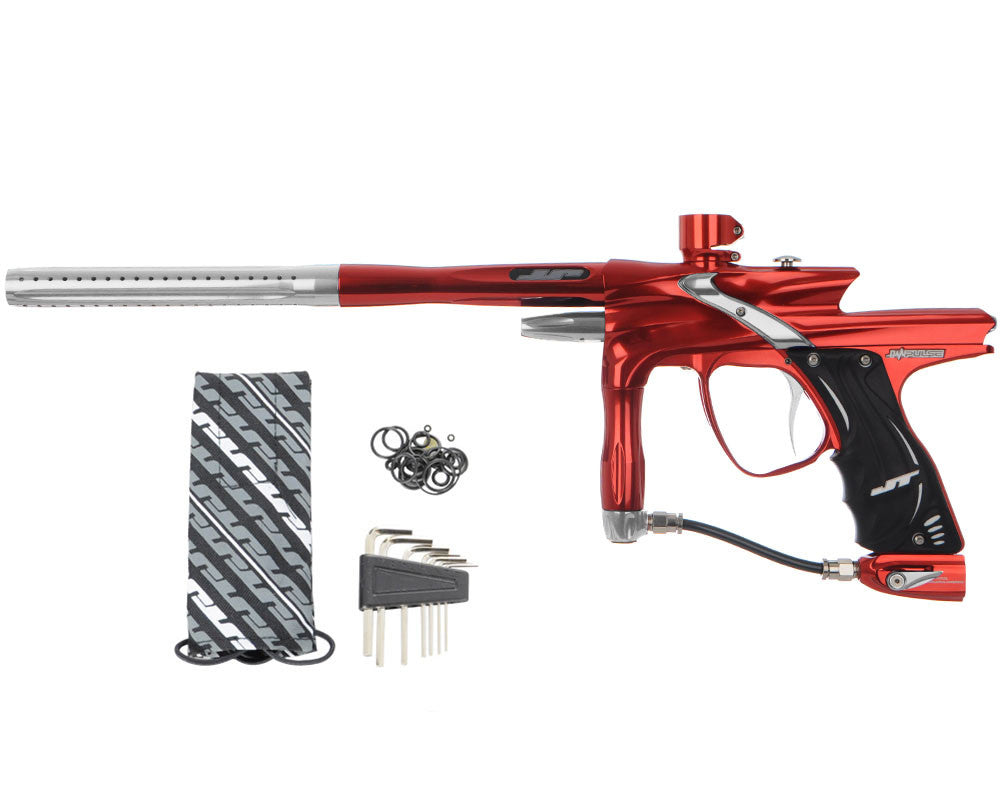 JT Impulse Paintball Gun - Red/Grey