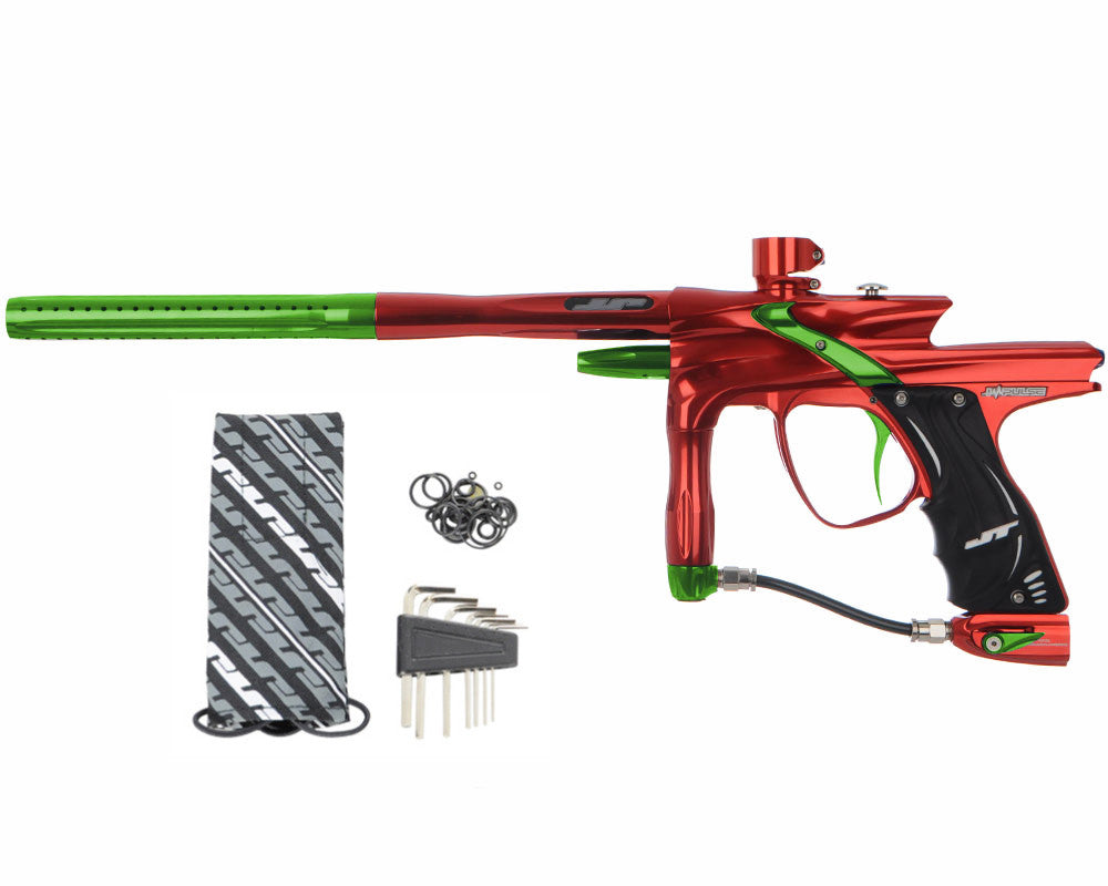 JT Impulse Paintball Gun - Red/Slime
