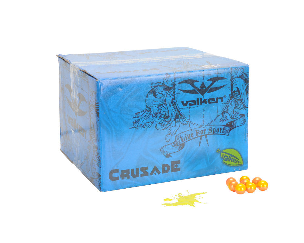Valken Crusade Paintball Case 1000 Rounds - Yellow Fill