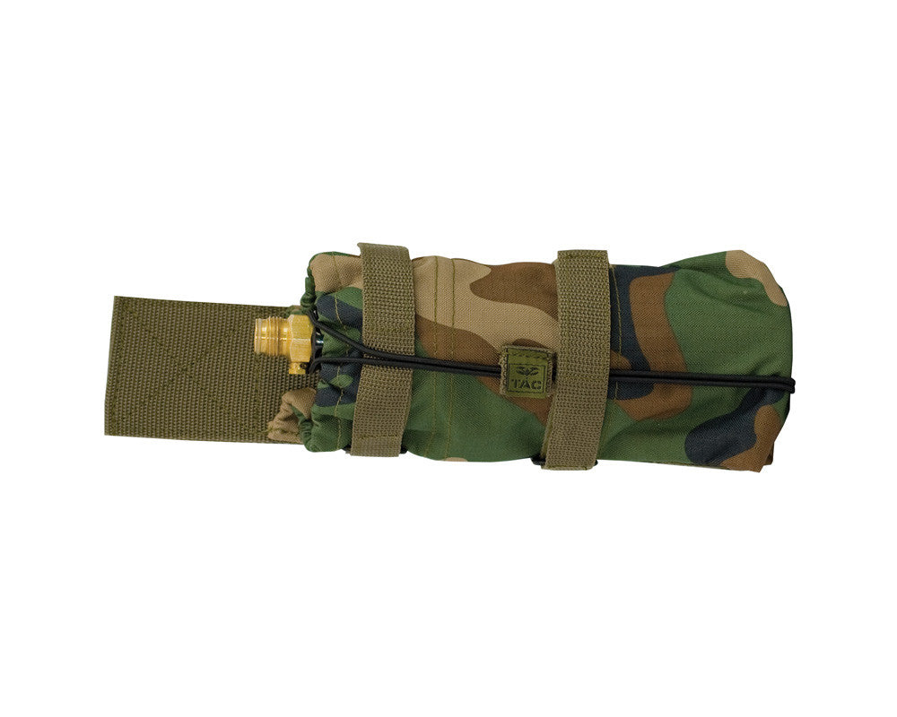 Valken V-Tac Vest Horizontal Tank Holder - Woodland