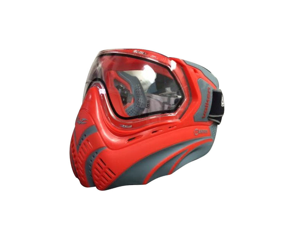 Valken Identity Paintball Mask - Red/Grey